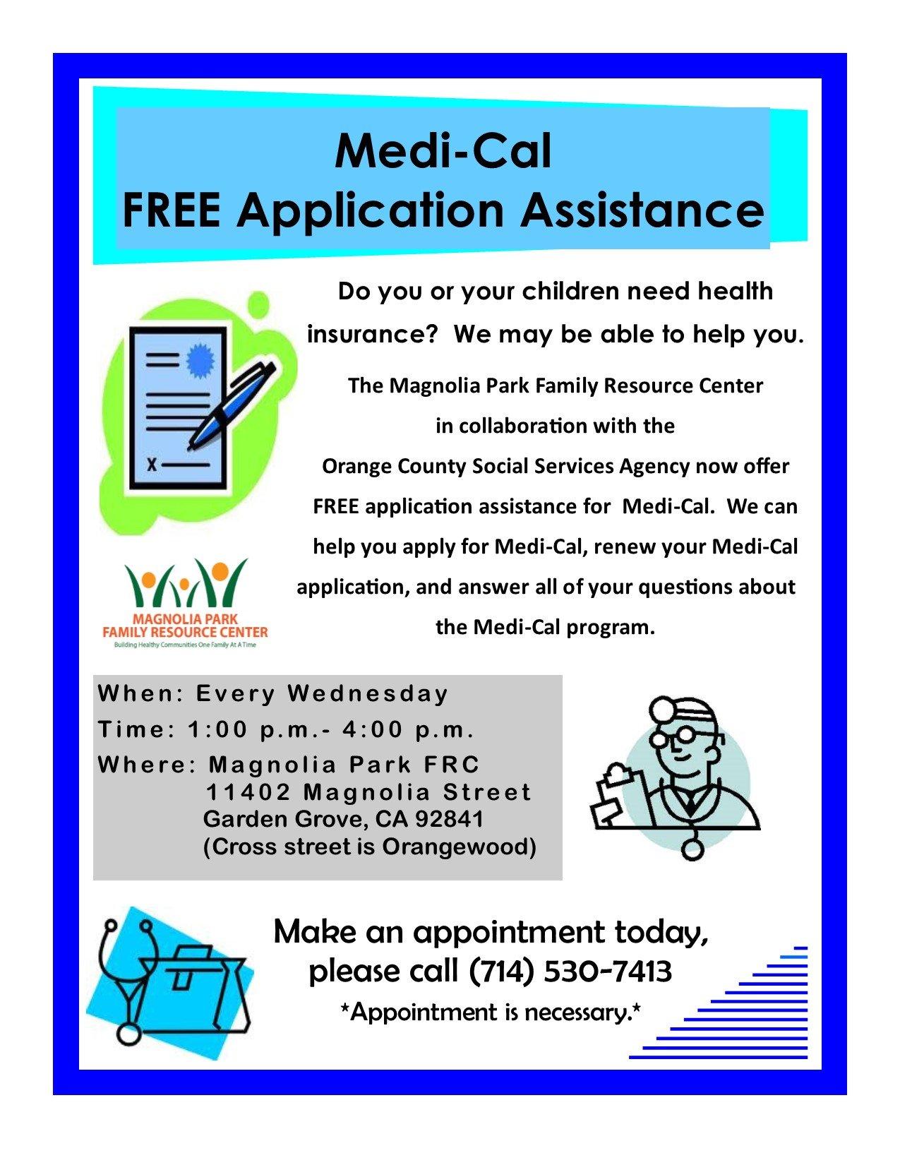 Medi-Cal Application Assistance