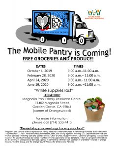 Free Groceries and Produce @ Magnolia Park Family Resource Center  |  |  |