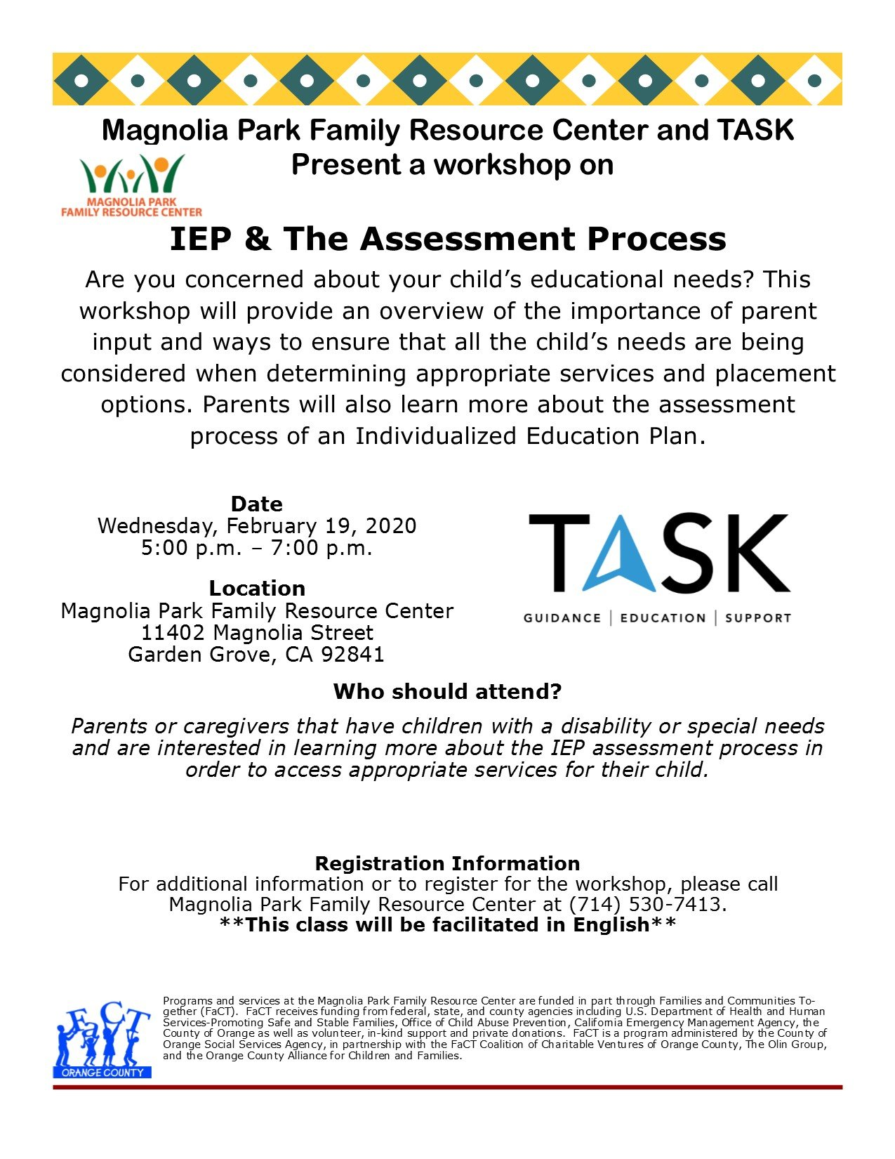 IEP & The Assessment Process (English)