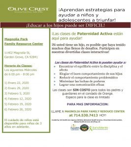 Spanish Parenting Class @ Magnolia Park Family Resource Center