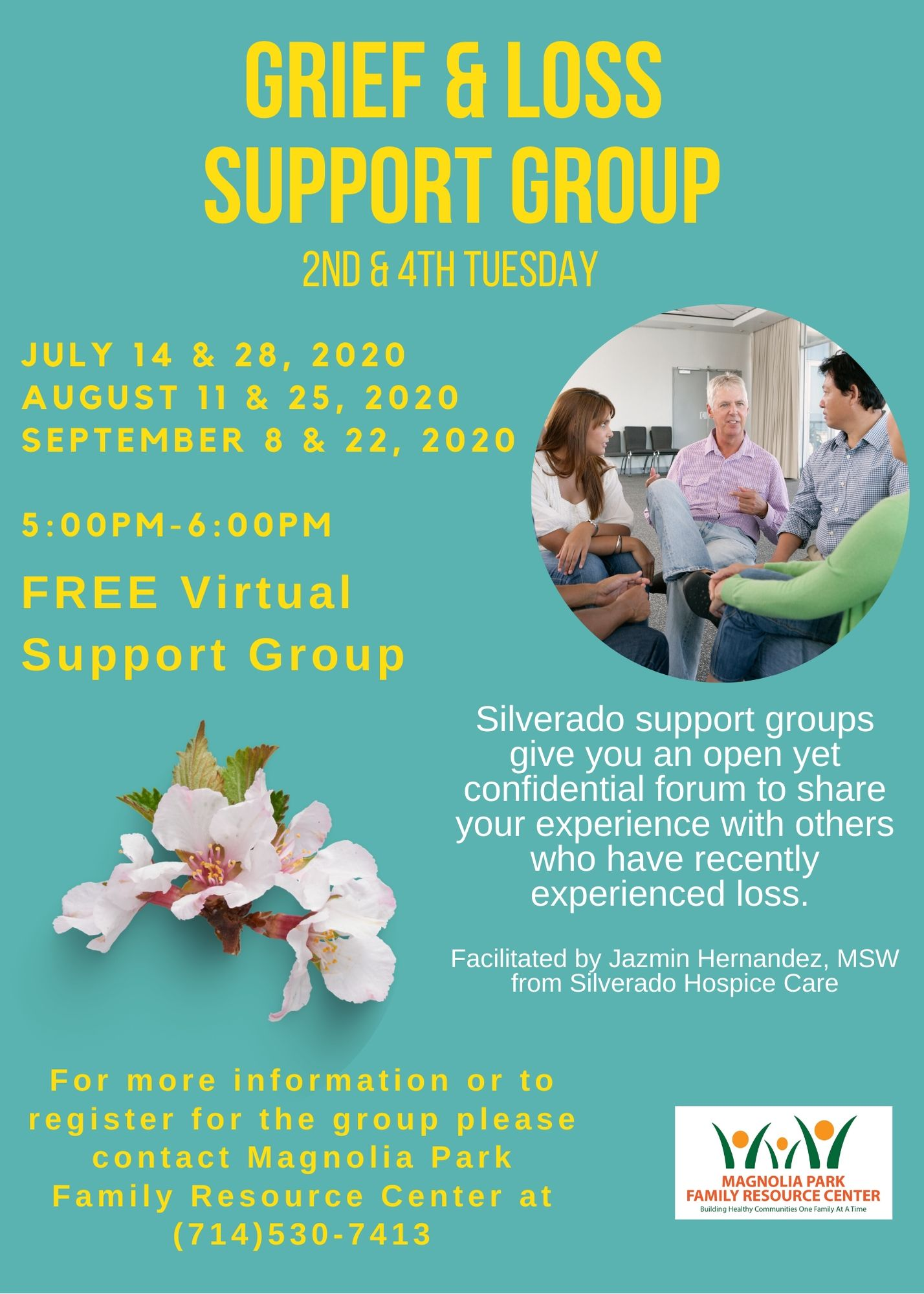 Loss & Grief Support *English And Spanish